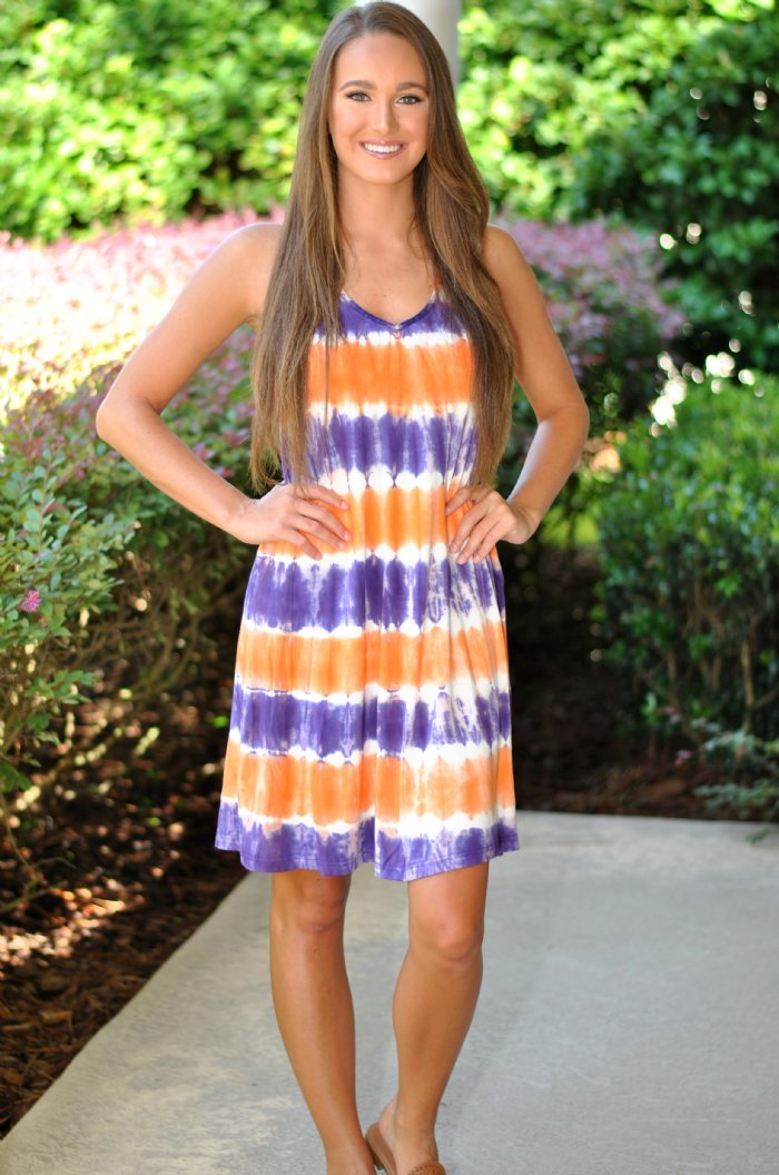 For the Purple/Orange Dress- Gameday Win