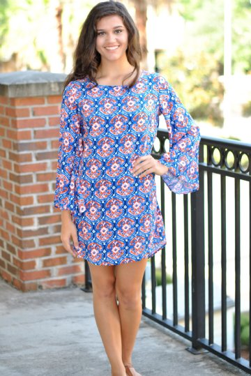 Orange & Blue Game Day Apparel - Dresses, Tops, and Accessories ...
